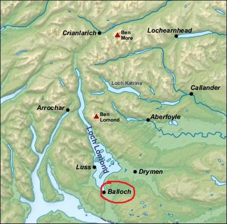 camping by Loch Lomond (Balloch)